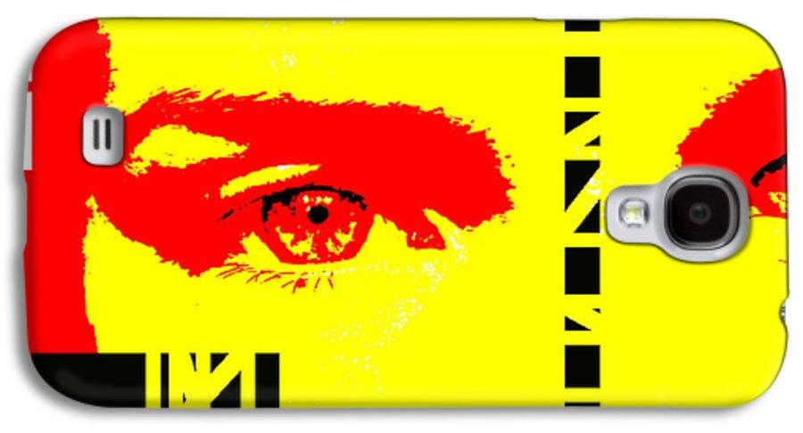 Eyes Galaxy S4 Case featuring the photograph Broken by Amanda Barcon
