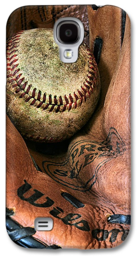 Baseball Galaxy S4 Case featuring the photograph Broken In by JC Findley