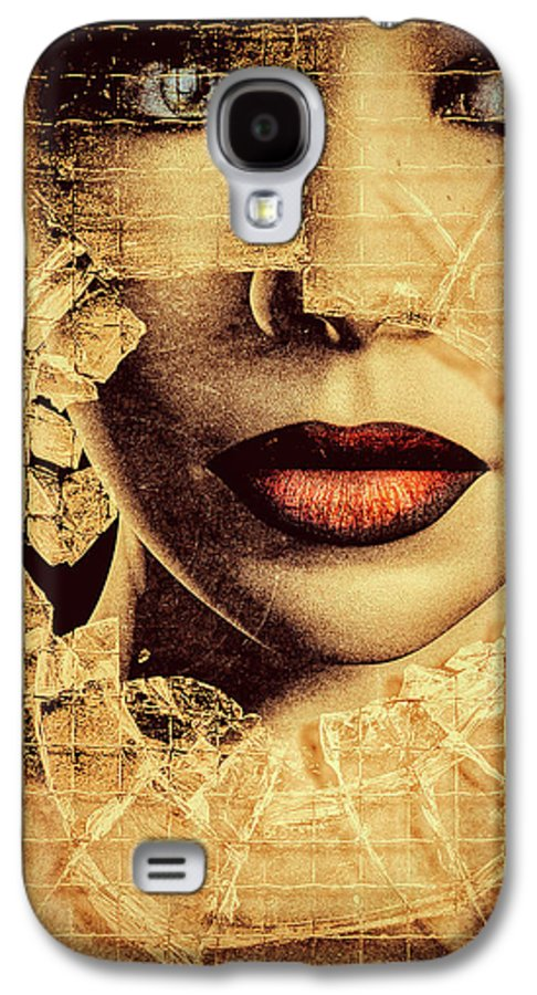 Woman Galaxy S4 Case featuring the photograph Broken Window by Bob Orsillo