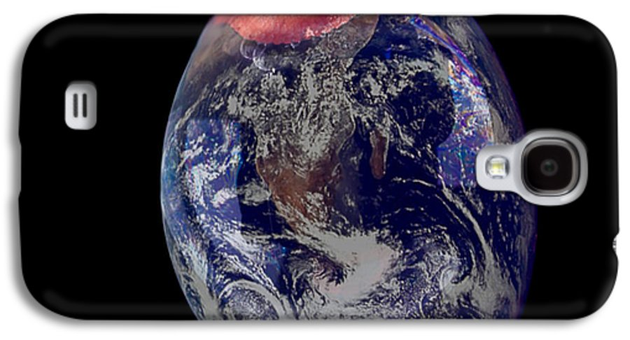 Earth Galaxy S4 Case featuring the photograph Bubble Earth by Jim DeLillo