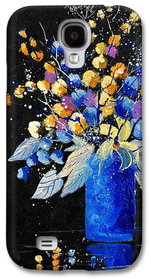 Flowers Galaxy S4 Case featuring the painting Bunch 451008 by Pol Ledent