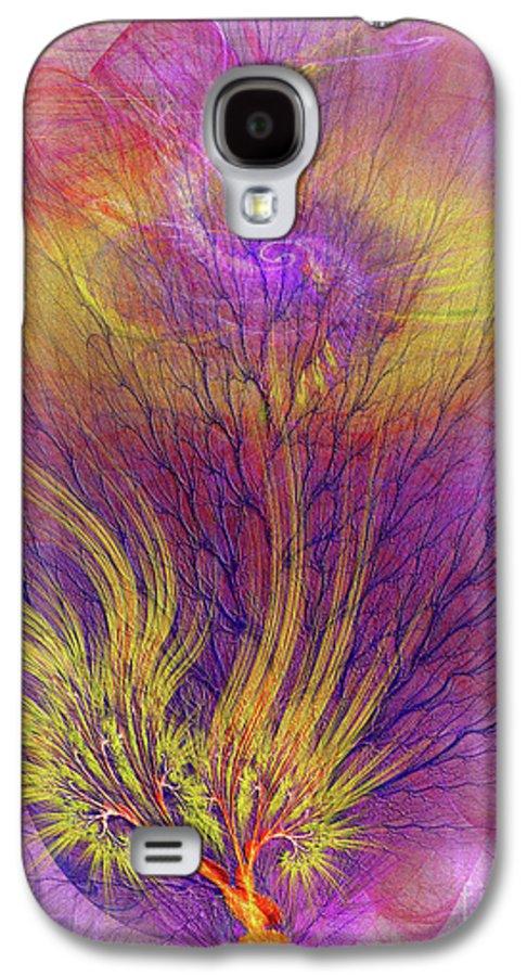 Burning Bush Galaxy S4 Case featuring the digital art Burning Bush by John Beck