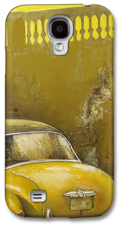 Havana Galaxy S4 Case featuring the painting Buscando La Sombra by Tomas Castano