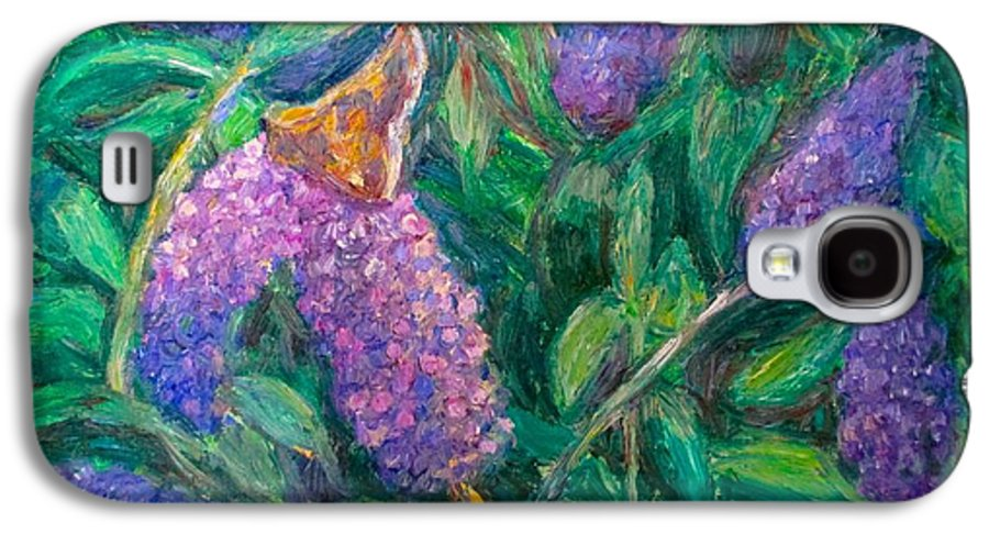 Butterfly Galaxy S4 Case featuring the painting Butterfly View by Kendall Kessler