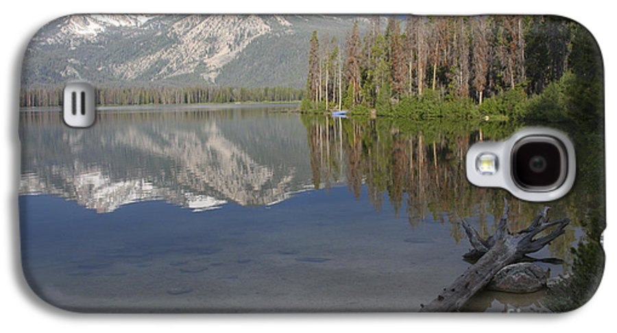 Stanley Lake Galaxy S4 Case featuring the photograph Calm Before The Storm by Idaho Scenic Images Linda Lantzy
