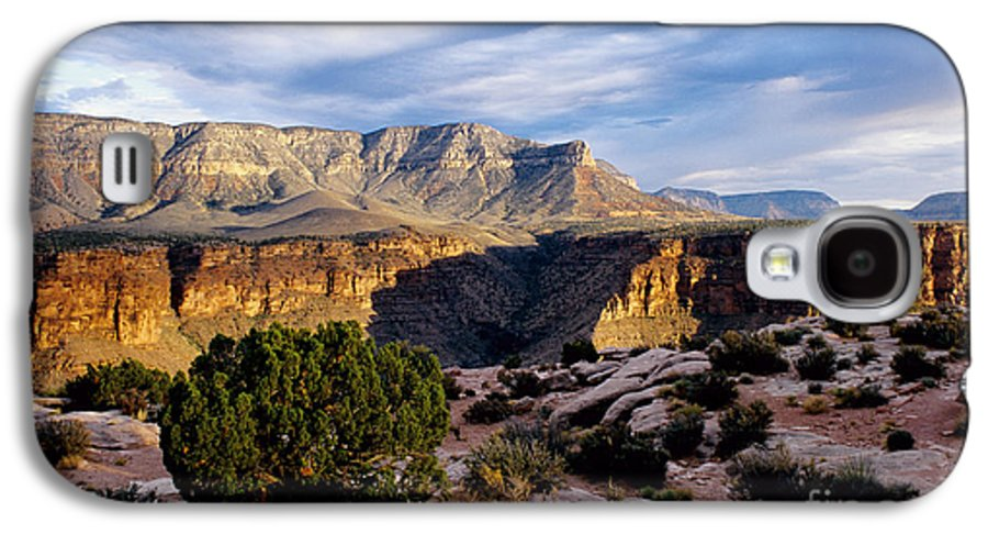 Toroweap Galaxy S4 Case featuring the photograph Canyon Walls At Toroweap by Kathy McClure