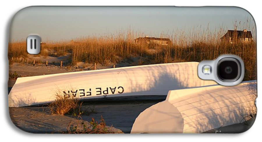 Boats Galaxy S4 Case featuring the photograph Cape Fear Boats by Nadine Rippelmeyer