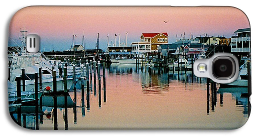 Cape May Galaxy S4 Case featuring the photograph Cape May After Glow by Steve Karol
