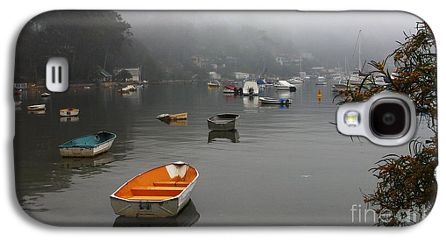 Mist Galaxy S4 Case featuring the photograph Careel Bay Mist by Sheila Smart Fine Art Photography