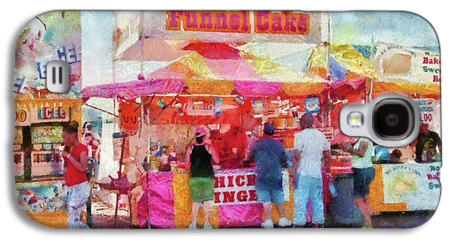 Suburbanscenes Galaxy S4 Case featuring the photograph Carnival - The Variety Is Endless by Mike Savad