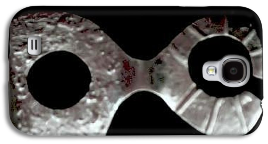 Carnival Type Face Mask For Wearing In .999 Fine Silver Galaxy S4 Case featuring the photograph Carnival 002 by Robert aka Bobby Ray Howle