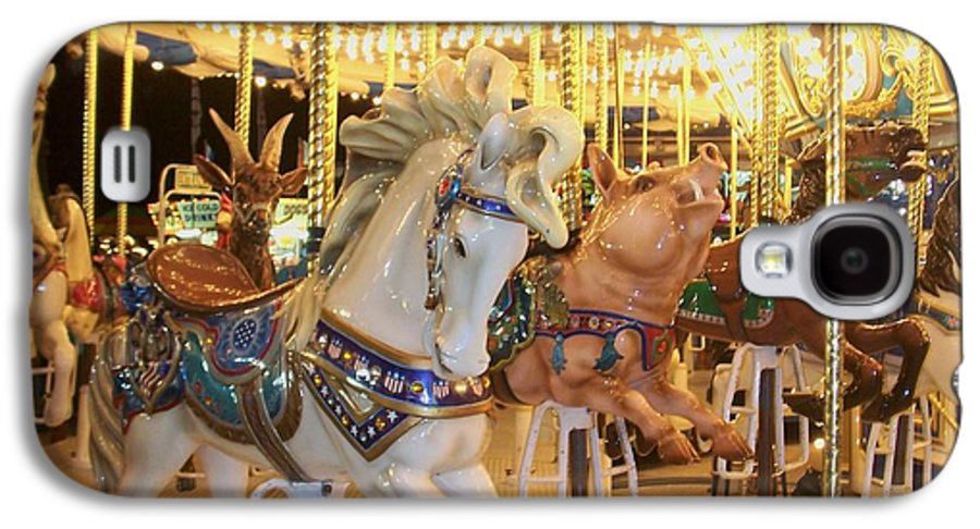 Carosel Horse Galaxy S4 Case featuring the photograph Carousel Horse 2 by Anita Burgermeister