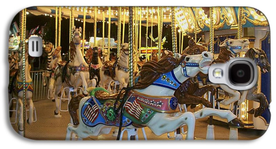 Carousel Horse Galaxy S4 Case featuring the photograph Carousel Horse 3 by Anita Burgermeister