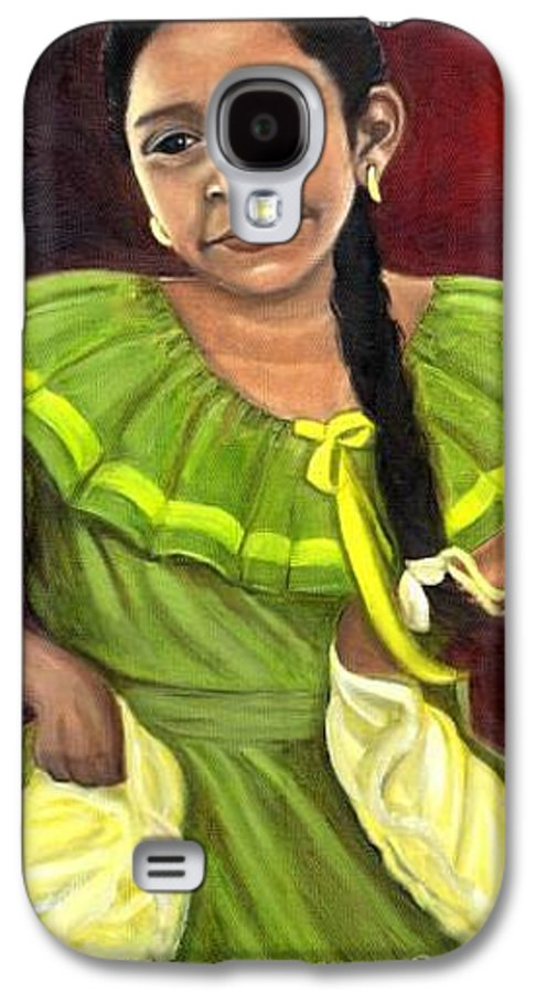 Galaxy S4 Case featuring the painting Cecelia by Toni Berry