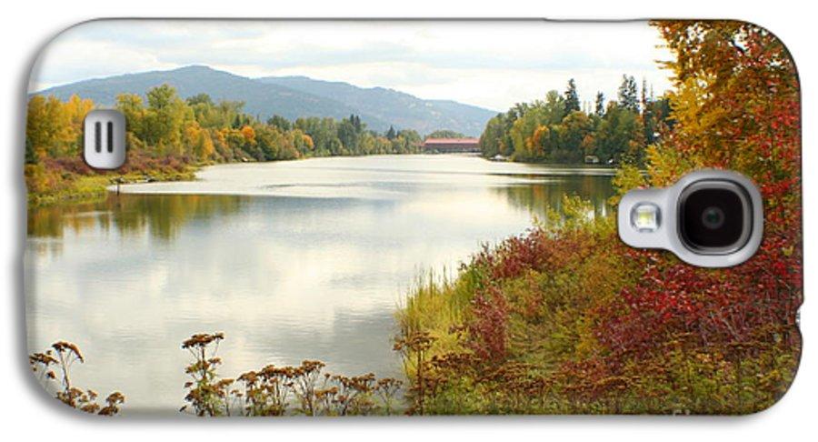 Cedar Galaxy S4 Case featuring the photograph Cedar Street Bridge by Idaho Scenic Images Linda Lantzy