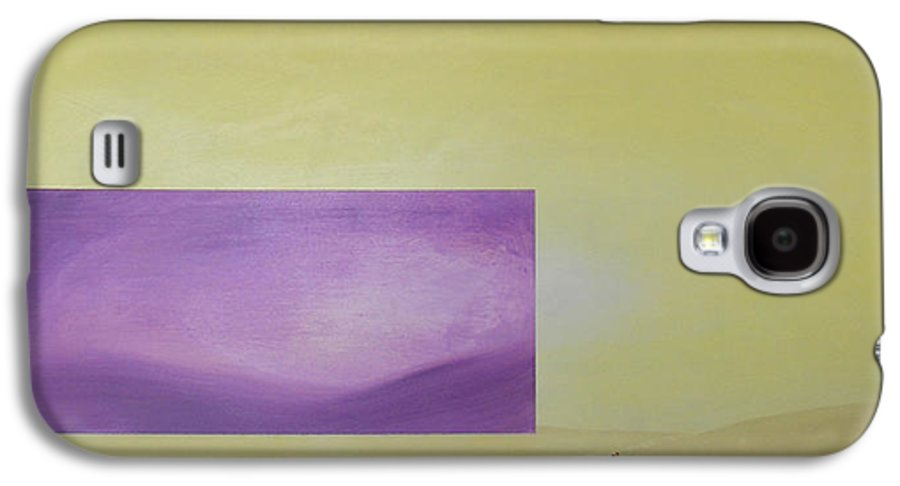 Abstract Galaxy S4 Case featuring the painting Change by Bojana Randall