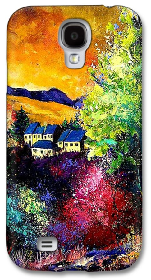 Landscape Galaxy S4 Case featuring the painting Charnoy by Pol Ledent