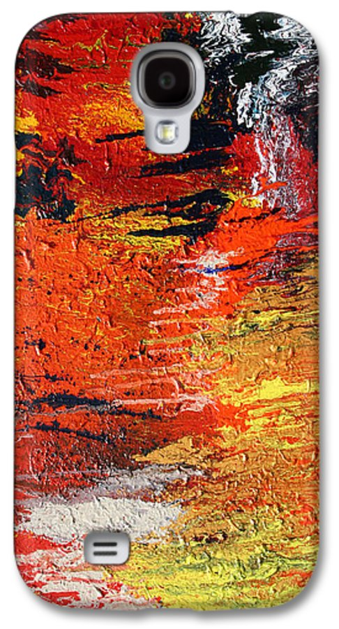 Fusionart Galaxy S4 Case featuring the painting Chasm by Ralph White