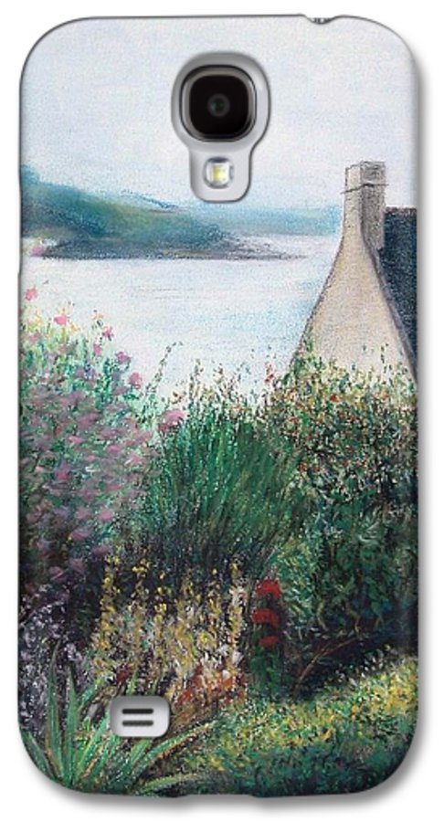 Landscape Galaxy S4 Case featuring the painting Chausey by Muriel Dolemieux