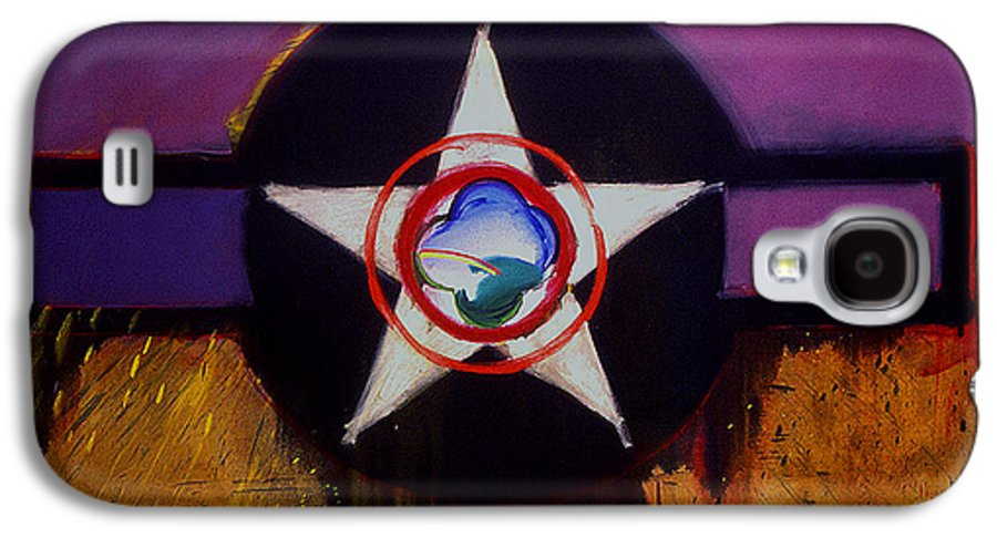 Air Force Insignia Galaxy S4 Case featuring the painting Cheyenne Autumn by Charles Stuart