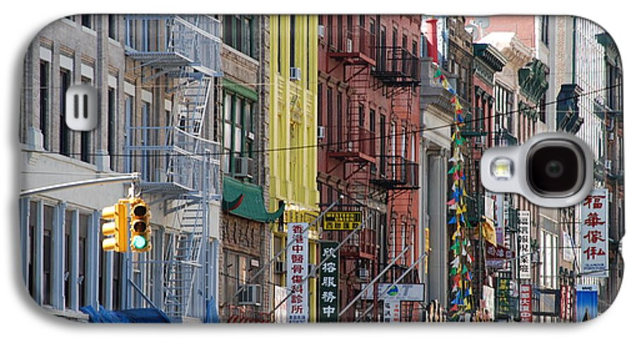 Architecture Galaxy S4 Case featuring the photograph Chinatown Walk Ups by Rob Hans