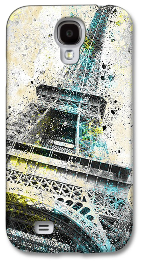 Europe Galaxy S4 Case featuring the photograph City-art Paris Eiffel Tower Iv by Melanie Viola