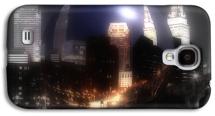 Cleveland Galaxy S4 Case featuring the photograph City On The North Coast by Kenneth Krolikowski