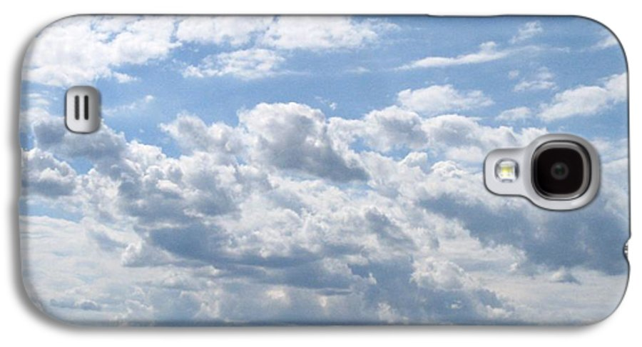 Clouds Galaxy S4 Case featuring the photograph Cloudy by Rhonda Barrett