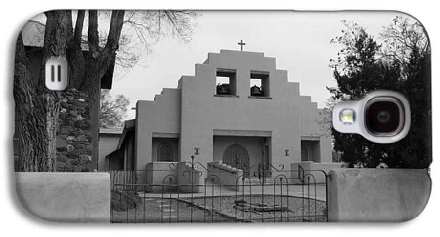Architecture Galaxy S4 Case featuring the photograph Cochiti Church by Rob Hans