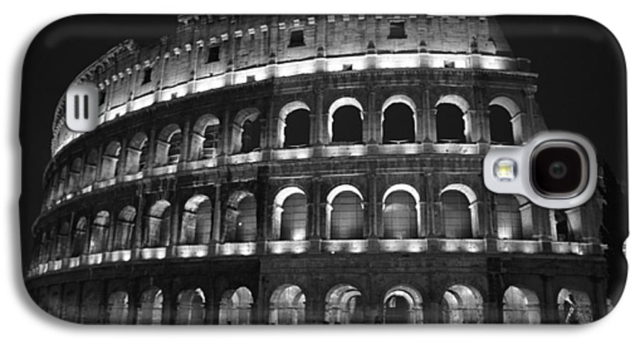 Italy Galaxy S4 Case featuring the photograph Colosseum by Kathy Schumann