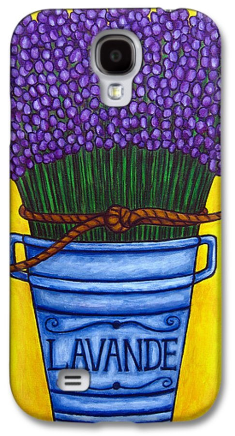 Antique Galaxy S4 Case featuring the painting Colours Of Provence by Lisa Lorenz
