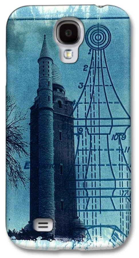 Alternative Process Photography Galaxy S4 Case featuring the photograph Compton Blueprint by Jane Linders