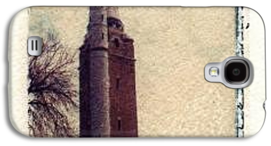 Polaroid Transfer Galaxy S4 Case featuring the photograph Compton Water Tower by Jane Linders