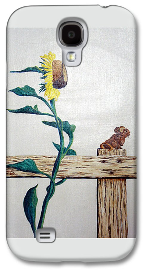 Still Life Galaxy S4 Case featuring the painting Confluence by A Robert Malcom