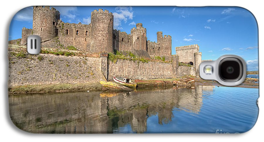 Conwy Castle Galaxy S4 Case featuring the photograph Conwy Castle by Adrian Evans