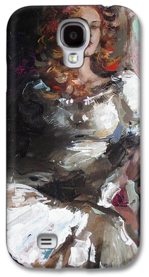 Ignatenko Galaxy S4 Case featuring the painting Countess by Sergey Ignatenko