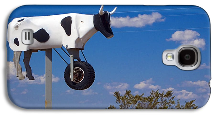 Cow Galaxy S4 Case featuring the photograph Cow Power by Skip Hunt