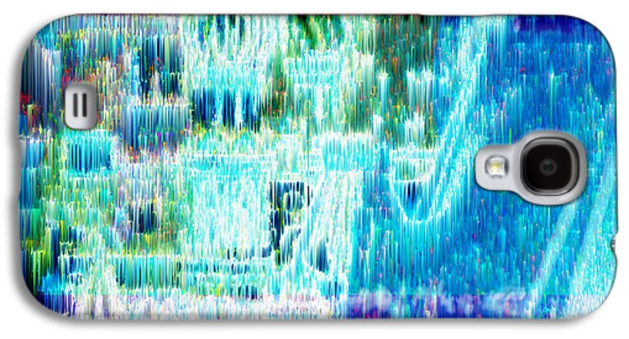 Northern Lights Galaxy S4 Case featuring the digital art Crystal City by Seth Weaver