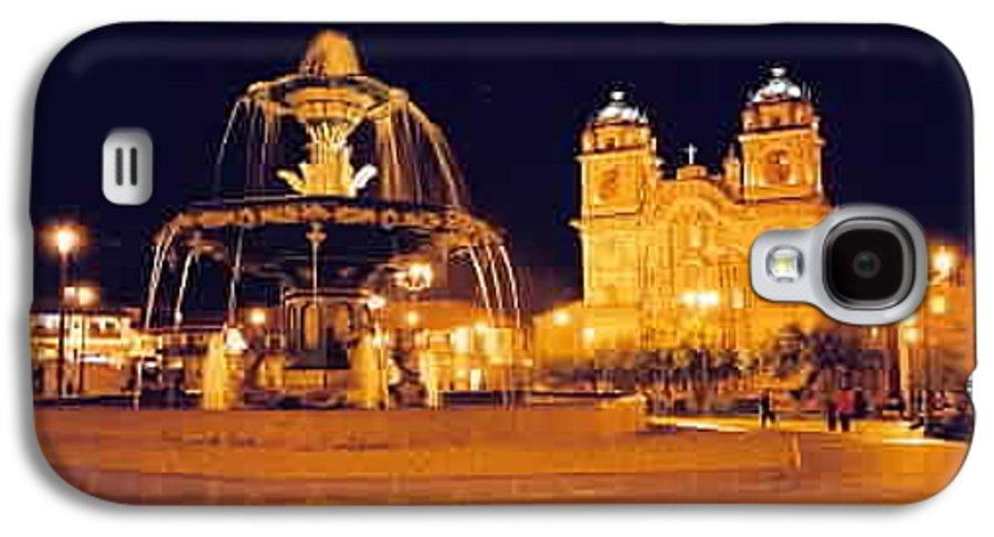 Night Galaxy S4 Case featuring the photograph Cusco Peru by Kathy Schumann