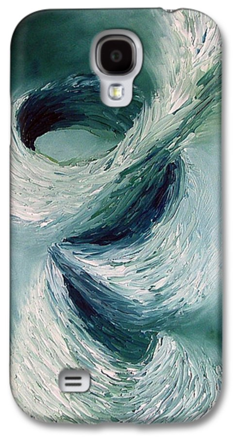 Tornado Galaxy S4 Case featuring the painting Cyclone by Elizabeth Lisy Figueroa