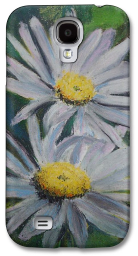 Daisies Galaxy S4 Case featuring the painting Daisies by Melinda Etzold