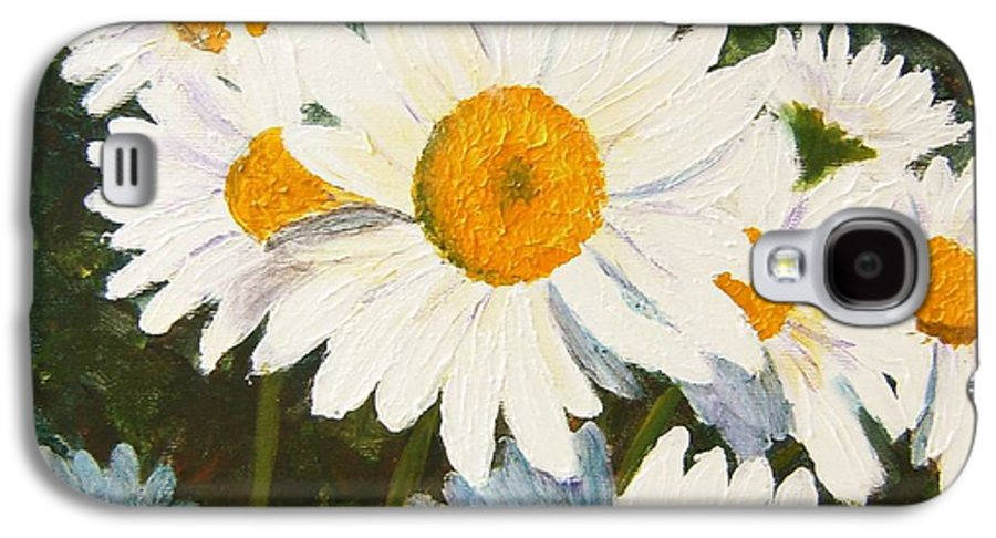 Daisy Galaxy S4 Case featuring the painting Daisy by Tami Booher