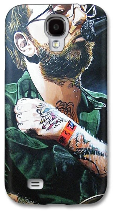 Dallas Green Galaxy S4 Case featuring the painting Dallas Green by Aaron Joseph Gutierrez