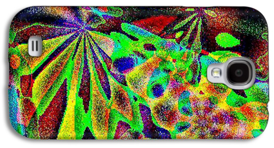 Computer Art Galaxy S4 Case featuring the digital art Damselwing by Dave Martsolf
