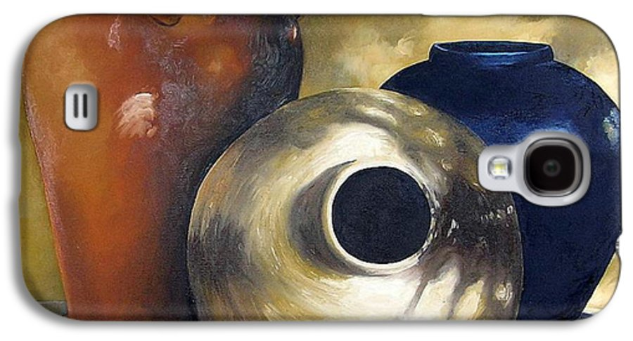 Painting Galaxy S4 Case featuring the painting Dappled Light by Trisha Lambi