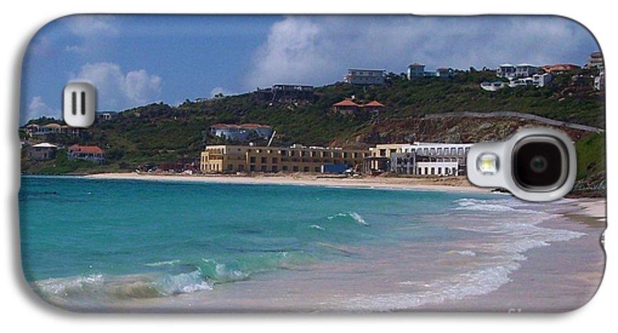 Dawn Beach Galaxy S4 Case featuring the photograph Dawn Beach by Debbi Granruth