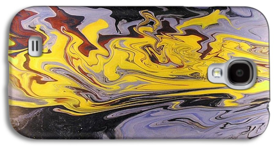 Acrylic Galaxy S4 Case featuring the painting Dawn Light by Patrick Mock