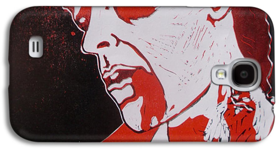Dawn Of The Dead Galaxy S4 Case featuring the painting Dawn Of The Dead Print 1 by Sam Hane
