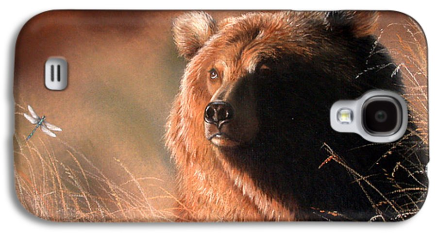 Wildlife Galaxy S4 Case featuring the painting Day Dream by Deb Owens-Lowe