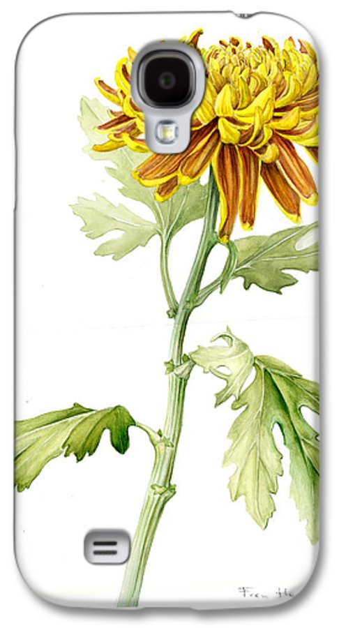 Deco Mum Galaxy S4 Case featuring the painting Deco Mum by Fran Henig